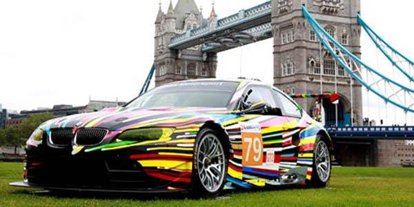 Les Art Cars de BMW aux JO de Londres
