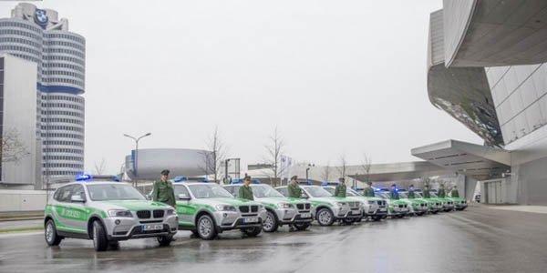 BMW fournit la police allemande