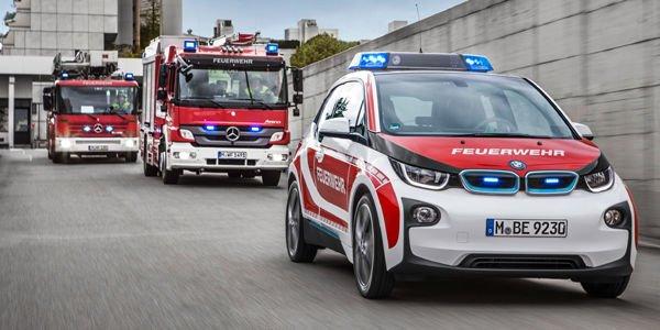 La BMW i3 plébiscitée par les services de sécurité
