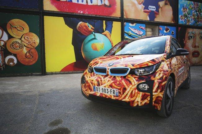 Une BMW i3 Spaghetti Car dévoilée à Arles