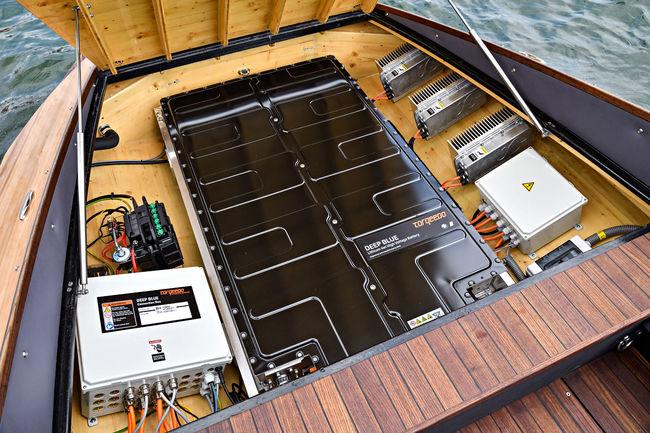 La BMW i3 partage désormais ses batteries avec des bateaux