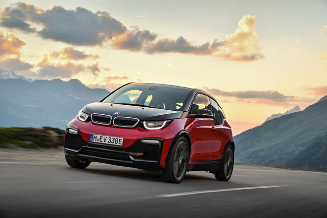 Francfort 2017 : nouvelles BMW i3 et i3S