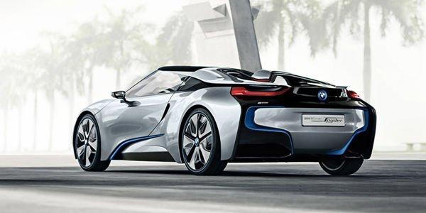 Une BMW i8 Spyder en approche ?