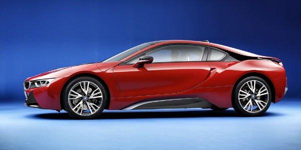 Une édition spéciale BMW i8 Protonic Red à Genève