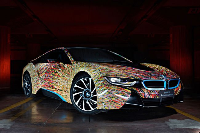 BMW i8 Futurism Edition par Garage Italia Customs