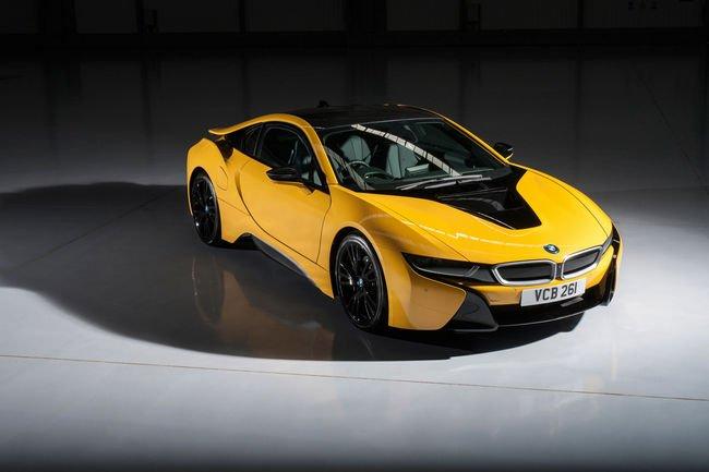 Nouvelles couleurs pour la BMW i8 en Grande-Bretagne