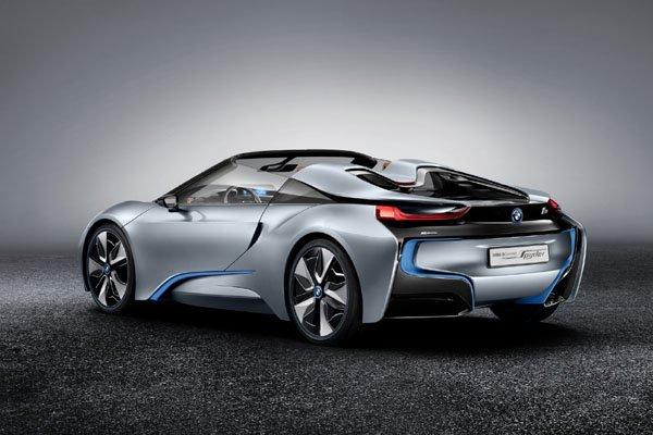BMW i8 Roadster : arrivée prévue en 2018