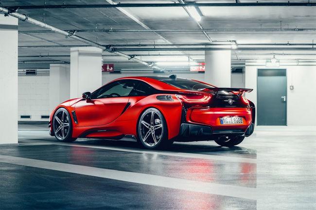 La BMW i8 revue par AC Schnitzer