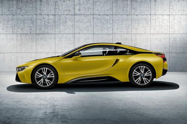 Plus de puissance pour la future BMW i8
