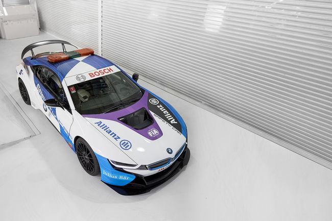 Une nouvelle BMW i8 Safety Car pour la Formule E