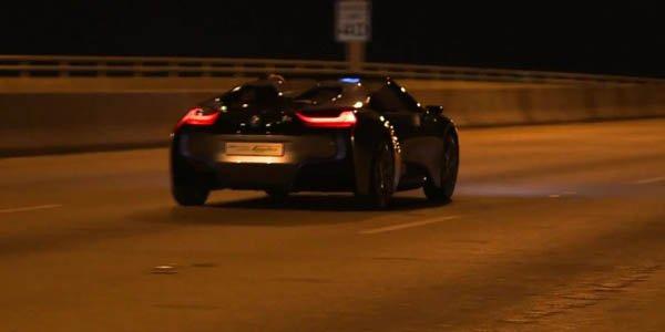 Le BMW I8 Spyder Concept en vidéo