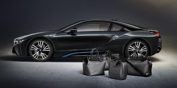 Louis Vuitton équipe la BMW i8