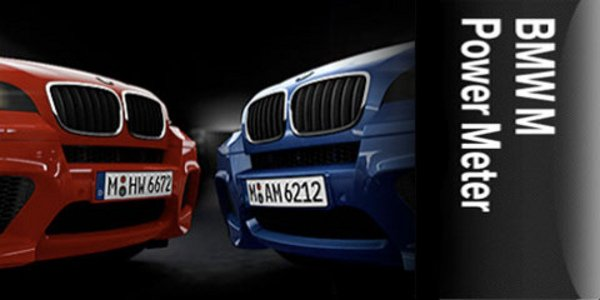 BMW lance le M Power Meter sur iPhone