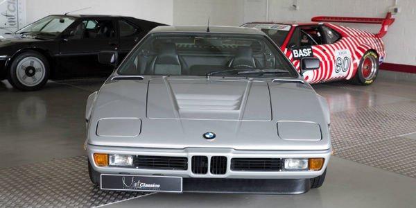 A vendre : rare BMW M1 Polaris Silver