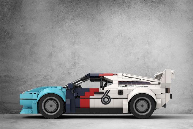 Contribuez à lancer ces BMW M1 en LEGO