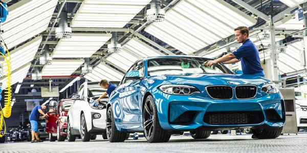 BMW M2 Coupé : production lancée