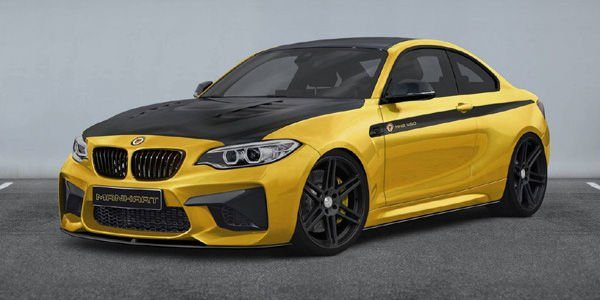 La BMW M2 vue par Manhart Performance