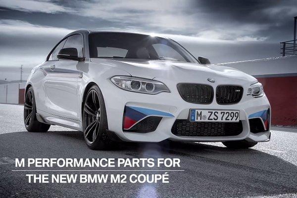 Le Pack M Performance de la BMW M2 en vidéo