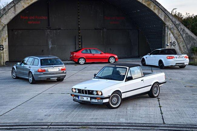 BMW expose quatre prototypes M3 insolites