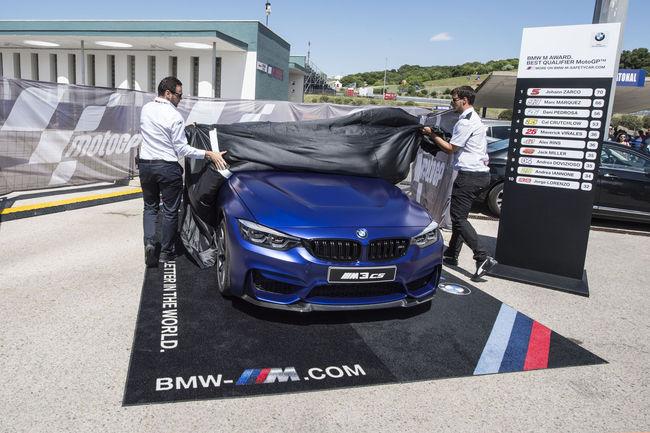 MotoGP : une BMW M3 CS pour BMW M Award