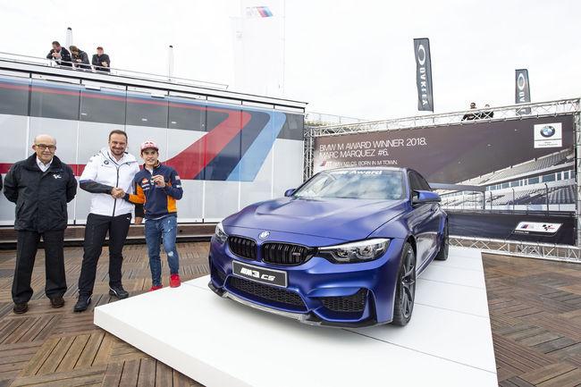 Marc Marquez décroche son 6ème BMW M Award