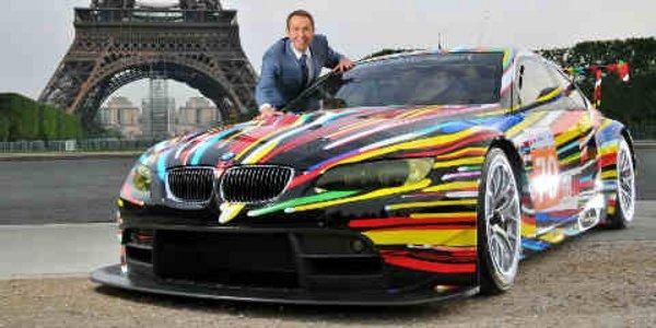 La BMW M3 GT2 décorée par Jeff Koons