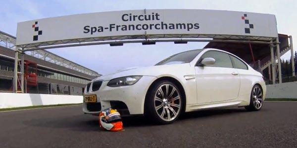 Balade sportive à Spa en BMW M3