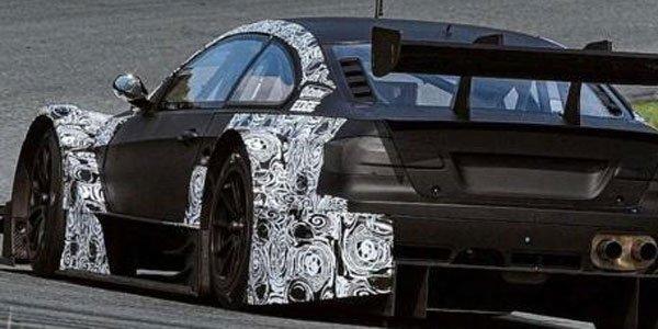 BMW M3 en test pour le DTM