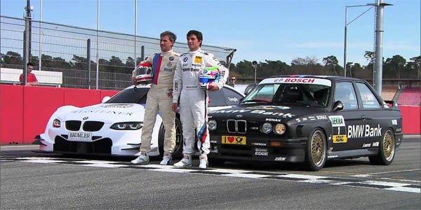 Vidéo : BMW M3 DTM, le choc des titans !