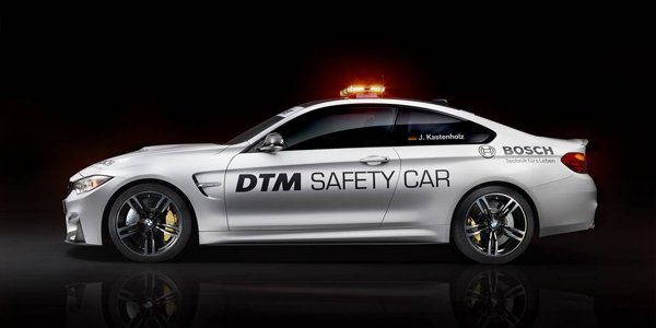 La BMW M4, Safety Car du DTM
