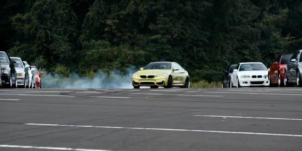 Accueil musclé pour la nouvelle BMW M4