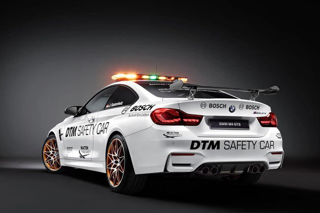 BMW M4 GTS : Safety Car du DTM
