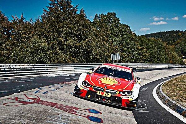 Onboard : le Nürburgring à bord d'une BMW M4 DTM