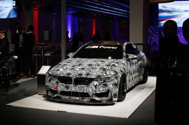 BMW présente sa M4 GT4 à Munich
