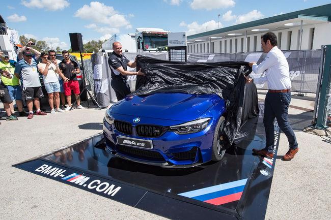 Une BMW M4 CS attend le vainqueur du BMW M Award