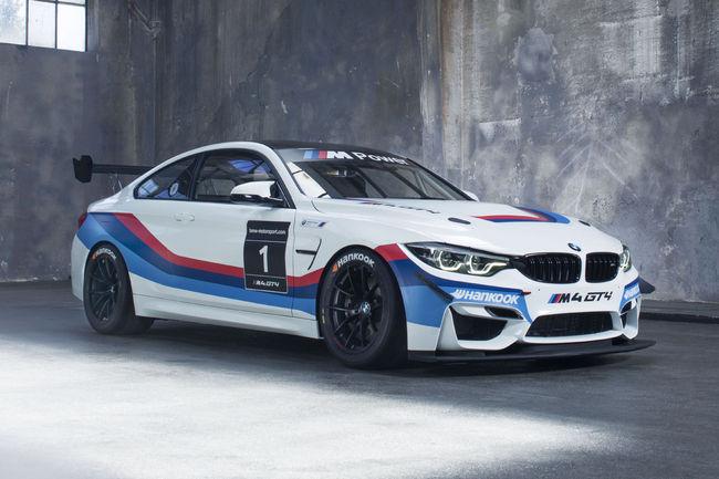 La BMW M4 GT4 dévoilée au Nürburgring