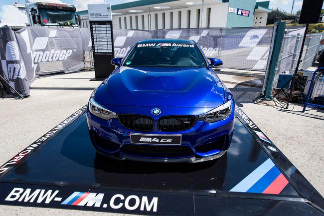 Marc Marquez remporte le BMW M Award