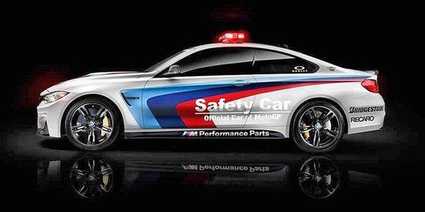 La BMW M4 sécurise le Moto GP