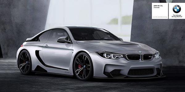 BMW M4 CSL Vision concept par r82 Workchop