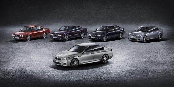 BMW fête les 30 ans de sa M5 avec une édition spéciale