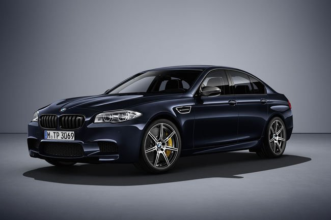 BMW M5 Competition Edition : 200 ex à 600 ch