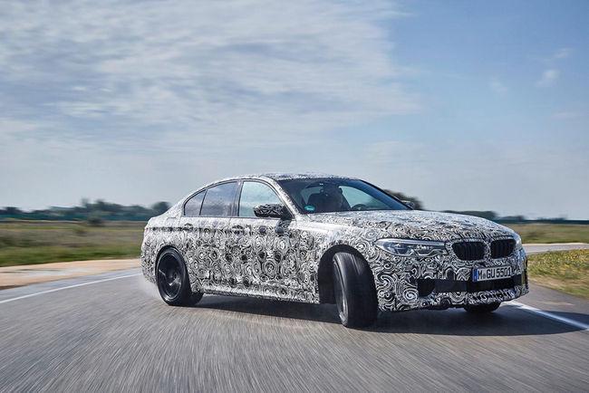 BMW dévoile la future M5 et sa technologie M xDrive