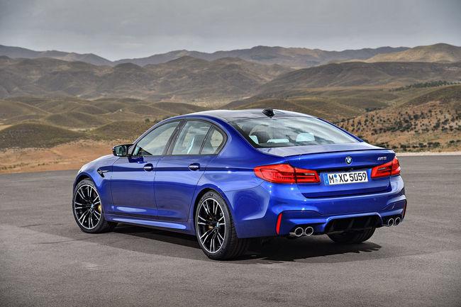 La nouvelle BMW M5 se met en 4