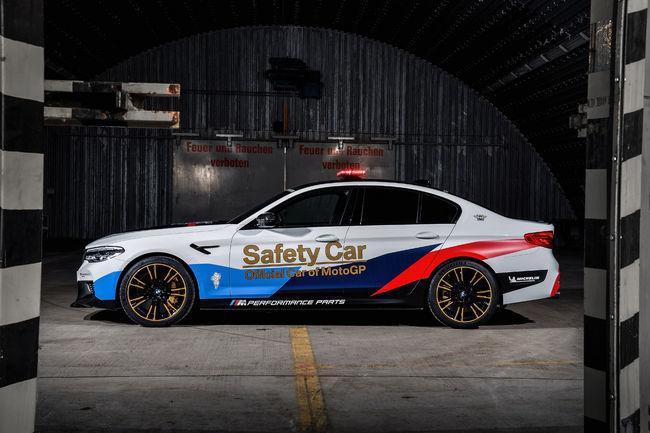 BMW dévoile la M5 MotoGP Safety-Car