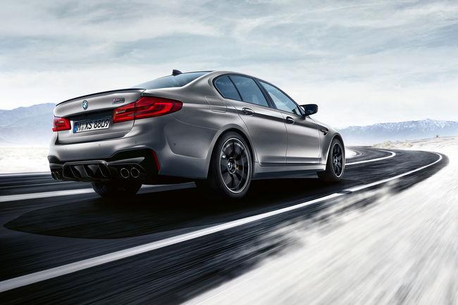BMW M5 Compétition : 625 ch sous le capot