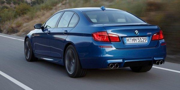 Freins carbone-céramique pour la BMW M5