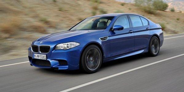 BMW M5 F10, boîte manuelle aux US