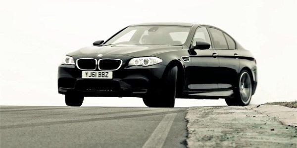 Vidéo promo: BMW M5 V8 biturbo