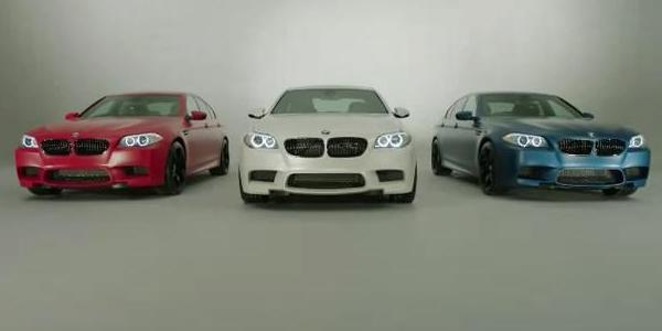 BMW M5 et M3 M Performance