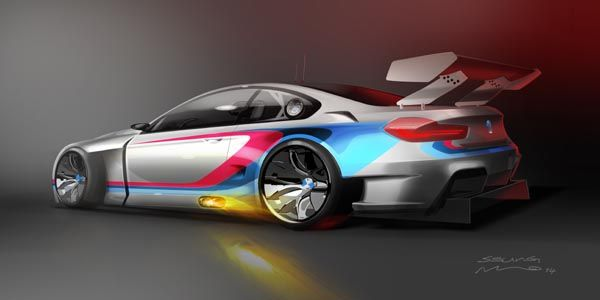 BMW annonce l'arrivée d'une M6 GT3 en 2016